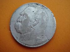 COINS SALE! Poland Polish Polonia Polska 1937 SILVER 10 Pilsudski Zlotych Nr 785