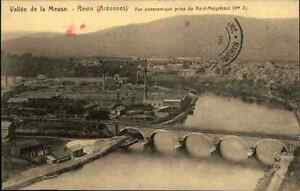 Feldpostkarte-1-Weltkrieg-AK-1916-REVIN-Meuse-Ardennes-Ardennen-Front-Feldpost