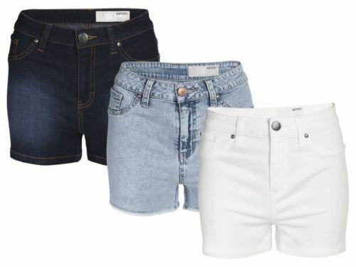 (bz) Esmara Señora Hotpants Accesorio De Moda Basic Shorts Pantalones Mujer Nuevo-ver