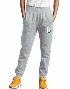 Champion-Life-Sweatpants-Joggers-Women-039-s-Reverse-Weave-Floss-Stitch-Big-C-Logo