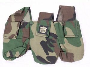 Nasty Boys 3 Pod Pouch Harness Holder Carrier Old Camo Print ...