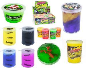 Novelty-SLIME-Tub-BULK-Dino-Ghostbuster-Frog-Galaxy-Barrel-FUN-Slime