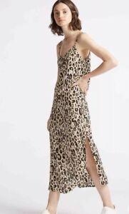 M S Limited Edition Animal Print Leopard Slip Dress Size 8 SOLD OUT ... 7ef4ebfa9