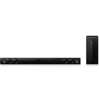 LG LAS465B 2.1ch 300W Sound Bar with Wireless Subwoofer and Bluetooth