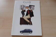 89409) Renault Clio A Prospekt 03/1994
