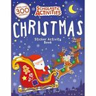 Christmas Sticker Activity Book by Scholastic (Paperback, 2014)