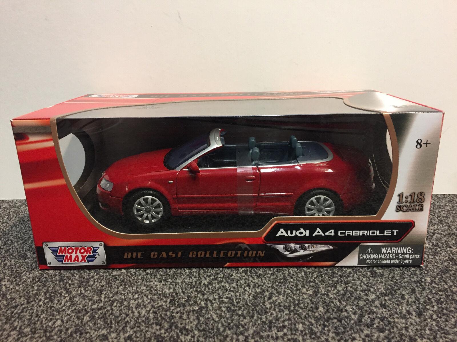 AUDI a4 Convertible 1 18 Motor Max