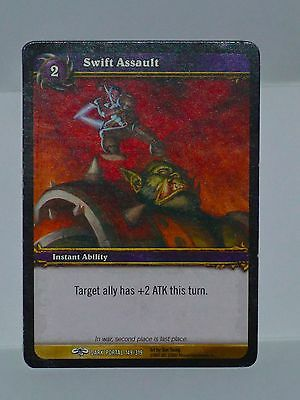 Warcraft Tcg Capable Swift Assault Dark Portal In Artists Proof Ben Young -149/319 Fashionable Style;