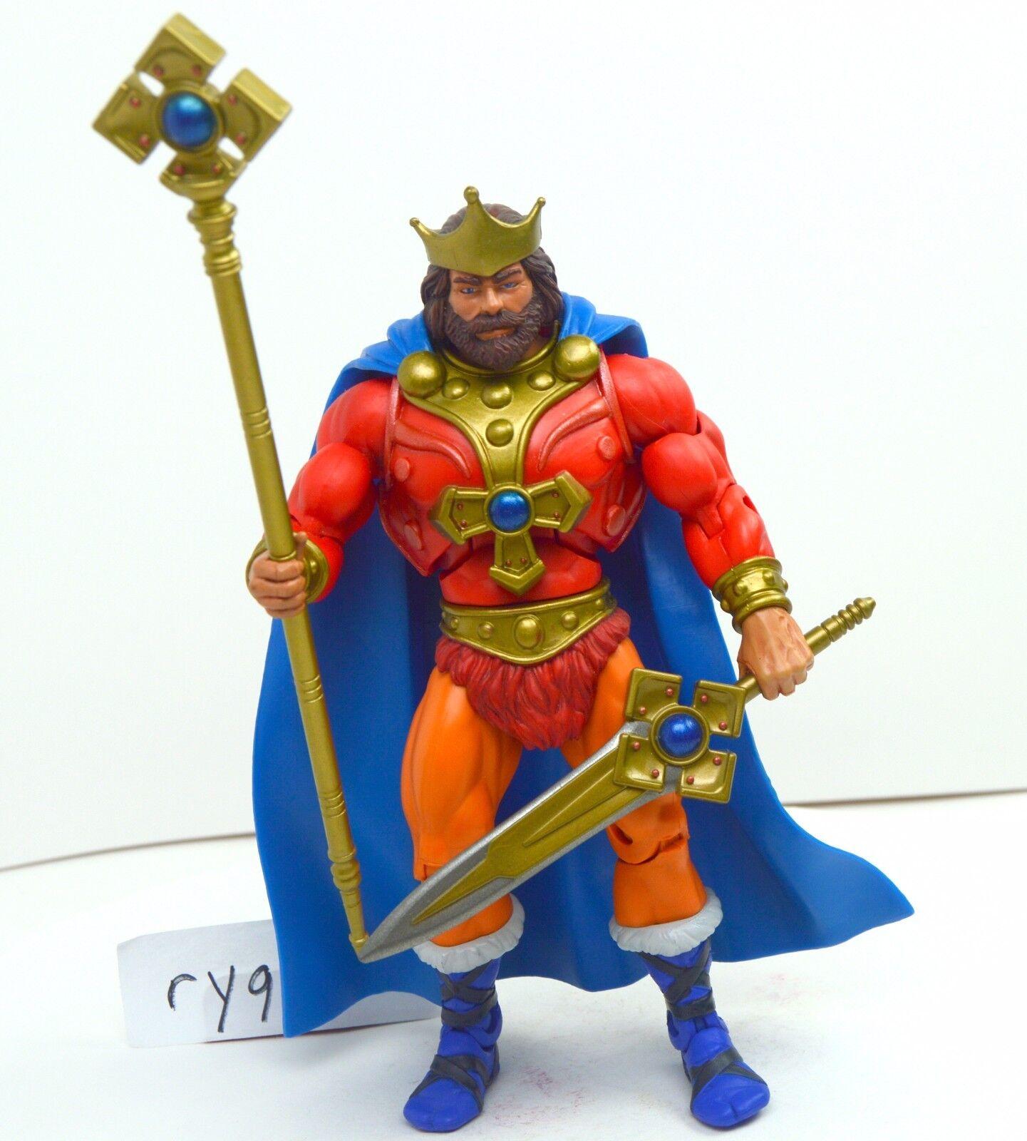 MOTUC, King Randor, figure, Masters of the Universe Classics, complete, sword