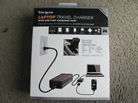 Brand Targus Laptop Travel Charger With Usb Fast Charging Port Apm32us