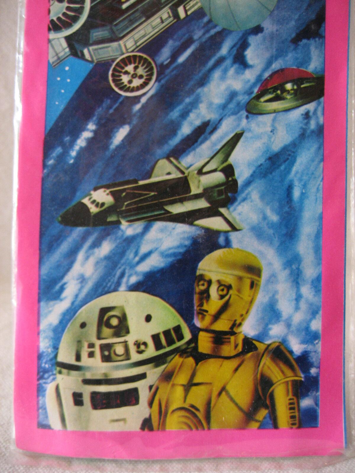 Vintage Japanese R2-D2 C-3PO Lupin III UFO kite kite kite Japan Star Wars space shuttle    c25e31