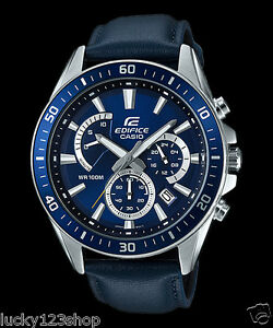 ee15a6d60490 EFR-552L-2A Blue Casio Men s Watches Edifice Date Day 24h Stopwatch ...