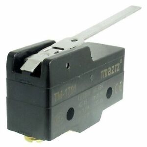 1Pc-TM-1701-15A-Micro-Limit-Switch-Long-Lever-Arm-SPDT-Snap-Action-Home