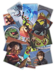 panini dragons 4 sammelkarten drachenzähmen leicht gemacht serie 3 einzelkarten | ebay