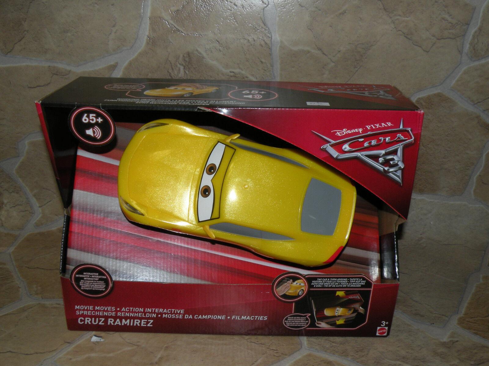 Cars 3 Cruz Ramirez Movie Moves NEU FDW15