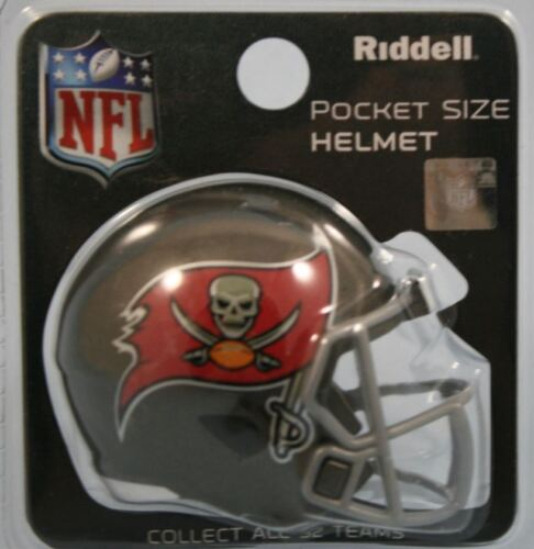 LONDON GAMES 2019 TAMPA BAY BUCCANEERS NFL MINI SPEED RIDDELL POCKET HELMET