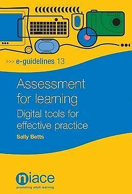 Assessment for Learning: Digital Tools for Effective Practice (E-Guidelines), Be