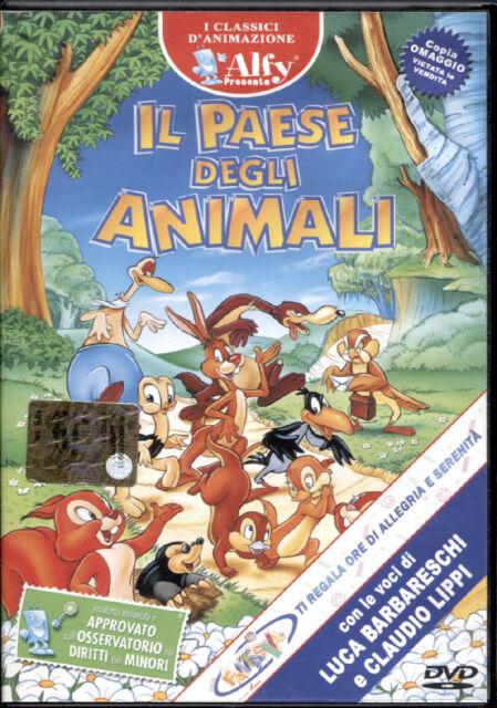 IL PAESE DEGLI ANIMALI - DVD NUOVO, PRIMA STAMPA, RARO! NO EDICOLA