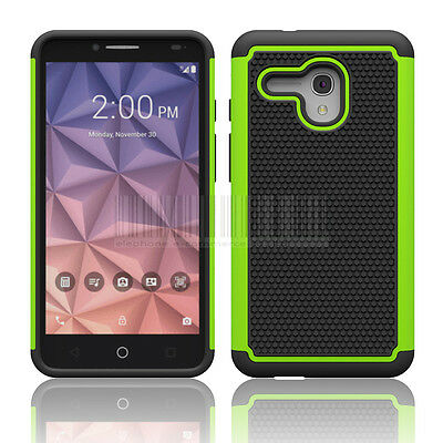 Armor Impact Rugged Hybrid Hard Case Cover For Alcatel One Touch Fierce XL
