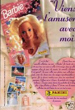 Publicité advertising 1994 Barbie Panini