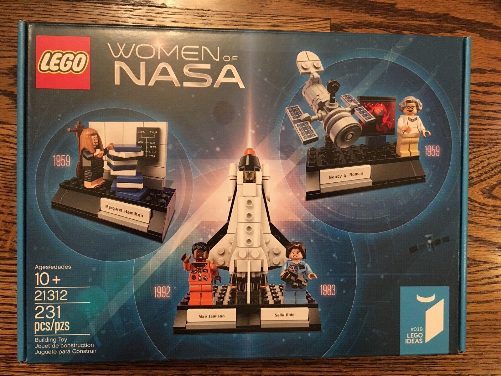 Lego 21312 Women of NASA Ideas STEM STEAM Engineering Engineering Engineering Girls Educational Toys NIB e5d397