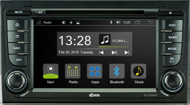 """For Seat Exeo st 3R 3RN 7 """" Inch App Android Car Radio Touch Wifi CD DVD USB BT"""