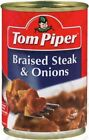 12x TOM PIPER BRAISED STEAK AND ONIONS 400GM