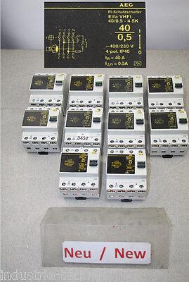 AEG Elfa VHFI 40//0,5-4 SK Fehlerstromschutzschalter 40A 0,5A 4-polig