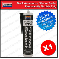 Granville Black RTV Silicone Sealer Stays Flexible High Temp Adhesive & Sealant