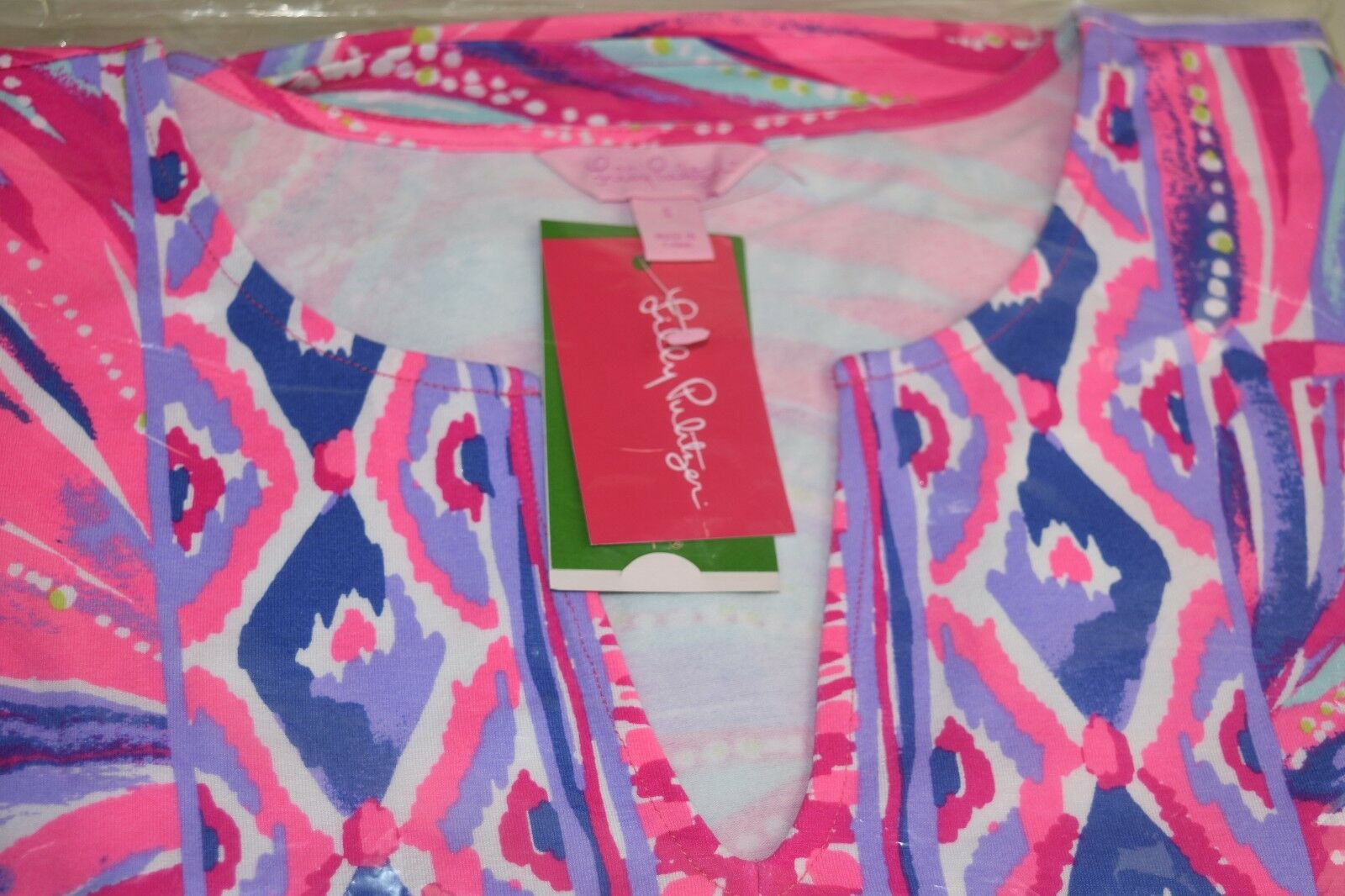 f1405641c09 Lilly Pulitzer Gianna Tunic Dress Oh My Guava for sale online | eBay