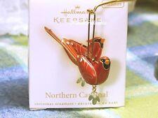 Hallmark Northern Cardinal Miniature ornament 2009