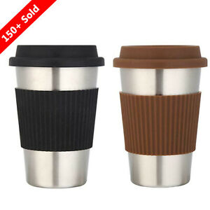 500mL-Stainless-Steel-Non-Slip-Coffee-Water-Cup-Insulated-Thermos-Travel-Tea-Mug