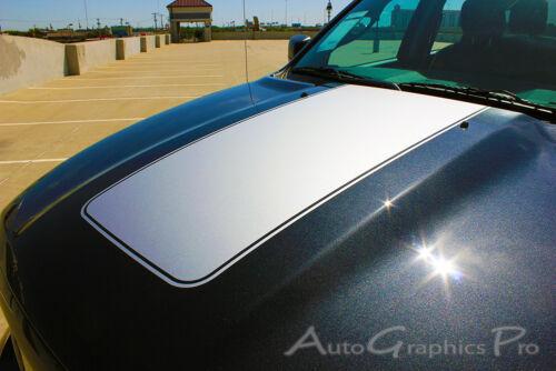 2009-2018 Dodge Ram Hood Solid Blackout 3M Pro Vinyl Graphics Decals Stripes