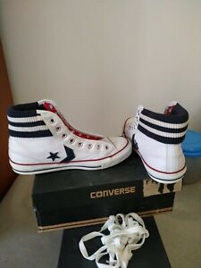 converse bianche pro leather