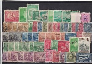 greater antilles used stamps  ref 12096