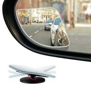 Hd Frameless Blind Spot Mirror Fan Shaped 2 5 Quot Convex