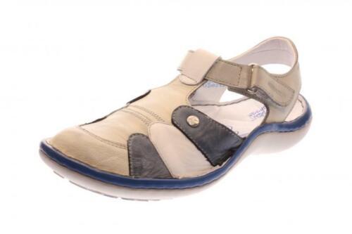 Mehrfarbig Krisbut Damen Sandale grau 2221-1