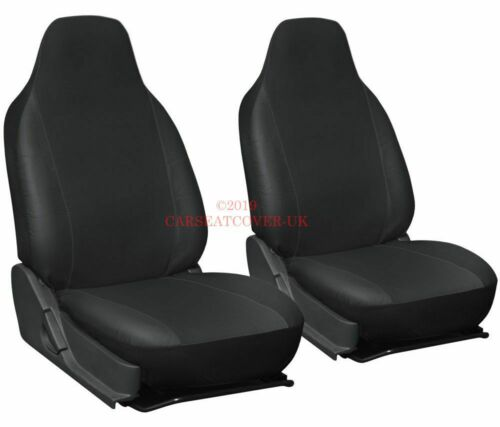 2 x Fronts Heavy Duty Leatherette Car Seat Covers 2006-10 Ford S-Max