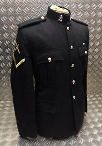 Genuine British Army Issue No1 Dress Jacket Blues Gurkha Engineers Insignia