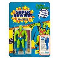 Super Powers Martian Manhunter Figure 23 Back (heavy Damage)