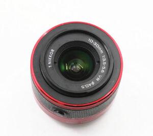 Rote-Nikon-1-Nikkor-10-30mm-f-3-5-5-6-VR-Objektiv-fuer-V1-V1-V2-S1-S2-J1-J2-J3-J4-J5