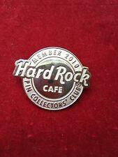 Hard Rock Cafe Pin Collectors Club Logo Member 2010