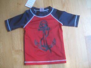 NWT Gymboree boy rash guard Dinosaur Surf Shirt Top Outlet 6-12M,12-18M,2T