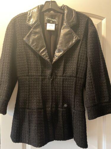 chanel tweed Blazer 38