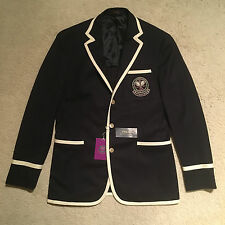 Polo Ralph Lauren Classic Wimbledon Umpire Blazer - Navy Size 48L RRP: £865.00