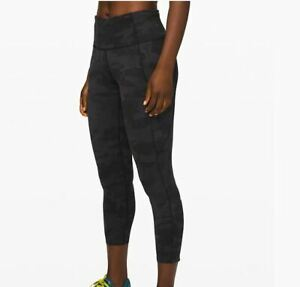 Lululemon NEW Womens Size 2 Fast Free High Rise Cropped