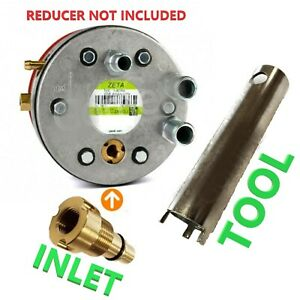 LPG Autogas Zavoli Zeta S N Reparatur Service Kit Satz Einlass Ventil + Werkzeug Spanner