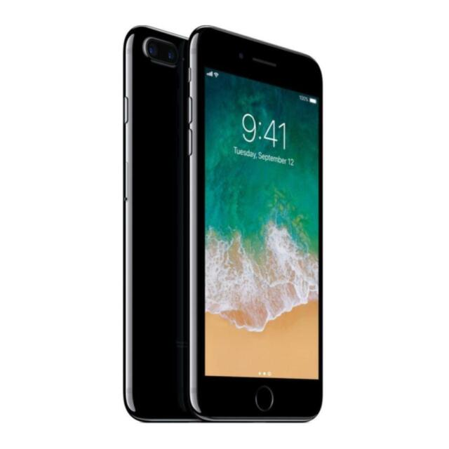 Apple iPhone 7 Plus - Unlocked - Jet Black - 256GB - AT&T / T-Mobile