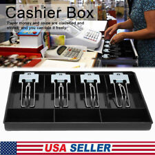Cash Register Till Insert Tray Replacement Coins Cashier Drawer Boxes Case