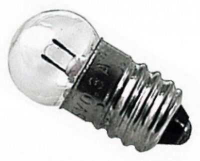 3,6V 0,5A 500mA 4921333306 LAMPADA LAMPADINA DI RICAMBIO PER TORCE ECC..